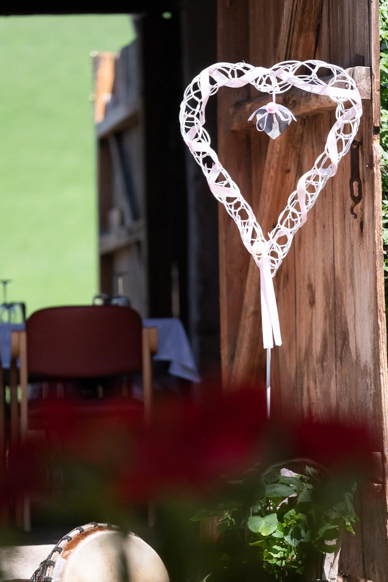 Hochzeitsdecko