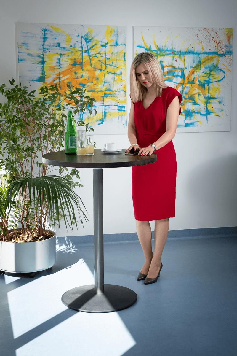 Businessfrau am Handy