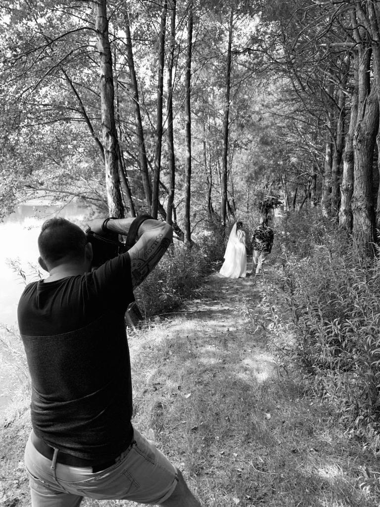 Alexander Paul Steiner beim shooting